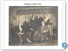 Nordgren Family in 1933
